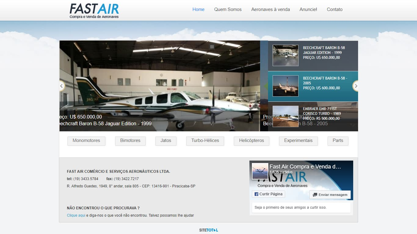 fastairaeronaves.com.br